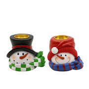 New arrival Snowman Candle Holder from China (mainland)
