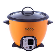 Multiple functions electric drum rice cooker with stir-fry function