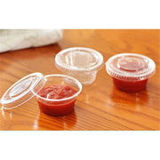 JOTO 2oz Plastic PET mini fruit jelly cup from China (mainland)