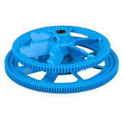 Plastic spur wheel gear from Hong Kong SAR