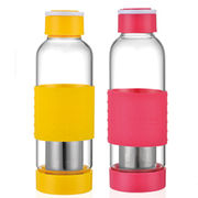 Travel glass water bottles from China (mainland)
