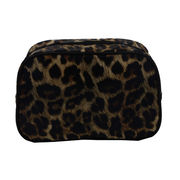 China Leopard cosmetic bags