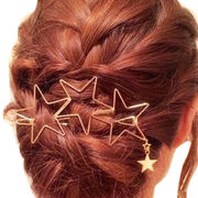 popular metal stars hair ornaments. high quality g from China (mainland)