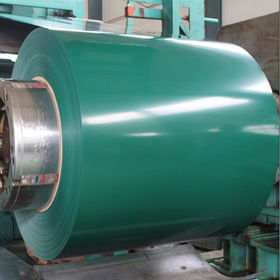 Color coated corrugated steel sheet from China (mainland)