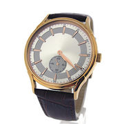 Men's classic slim wrist watch from Hong Kong SAR
