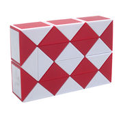 China Magic cube with plastic material, educational and advertising toys