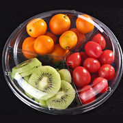Disposable plastic PET fruit/salad packing box from China (mainland)