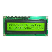 China Character LCD Module, 16*2 Lines, STN Yellow Mode