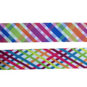 Colorful stripe grosgrain ribbon from China (mainland)