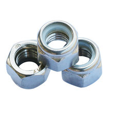 Stainless Steel 304 Nylon Insert Hex Lock Nuts from China (mainland)
