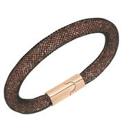 Hot sale mesh stardust magnetic clasp bracelets from China (mainland)