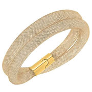 Hot sale mesh double stardust bracelets from China (mainland)
