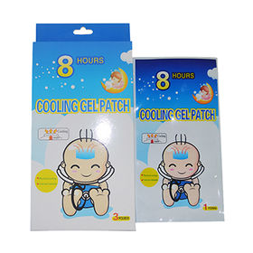 China Disposable Fever Cooling Patches For Baby