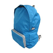 ultra-light foldable travel backpack from China (mainland)