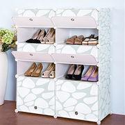 Printed design DIY PP amazing shoe rack from China (mainland)