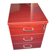 Wooden office mobile filing cabinet from China (mainland)