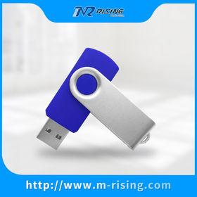 Popular Design Promotional Swivel USB Flash Drive Memorising Tech Limited