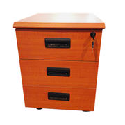 Wooden file mobile cabinet from China (mainland)