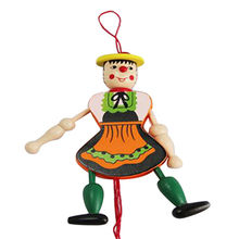2016 wooden string puppet toy from China (mainland)