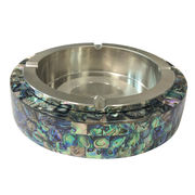 Colorful ceramic base metal ashtray from China (mainland)