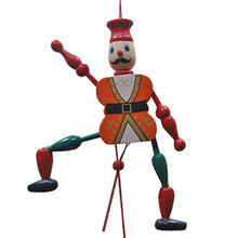 Kid's wooden puppet from China (mainland)