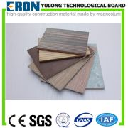 wood veneer laminated mgo board - Wood grain veneer laminated MgO board