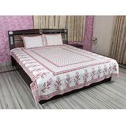 Flower Print Bed Sheets from India