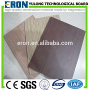 hpl laminated mgo board - wood grain HPL laminated MgO board