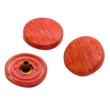 15mm Jean Button with Wooden Enamel from Nung Lai Co. Ltd