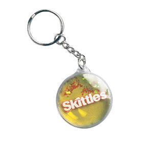 Round floating keychain, cheap promotional gifts from Hot and Cold Products Co. Ltd