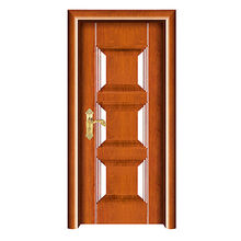Fashion steel wooden door