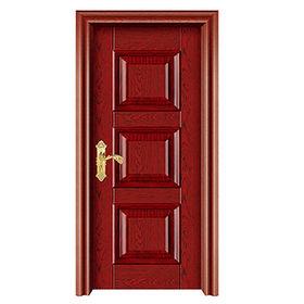 2016 new arrival steel wooden door J02A019