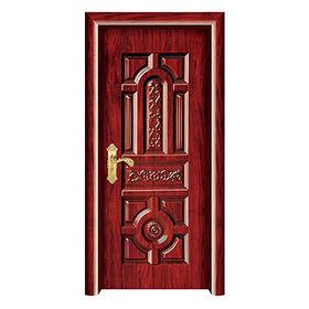 Wooden steel single door from China (mainland)