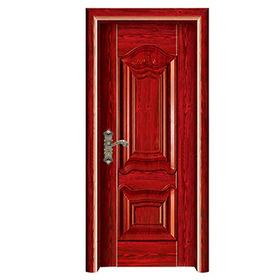 China Steel wooden interior door