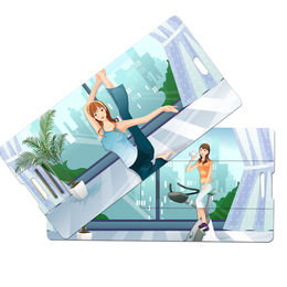 Credit Card Shape USB Flash Drive from Hong Kong SAR