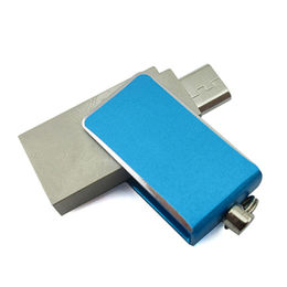 OTG USB Flash Drive with Customized Logo & Compatible with Smartphone from Memorising Tech Limited