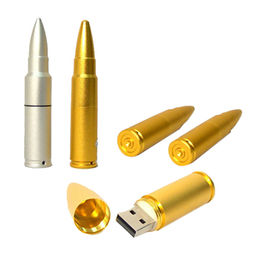 Hong Kong SAR Popular Metal Bullet USB Flash Drive