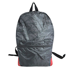 Foldable lightweight backpack, good for traveling, OEM orders are welcome from Hangzhou J&H Trading Co. Ltd