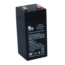 China 4V/4.5Ah UPS rechargeable sealed Lead-acid battery