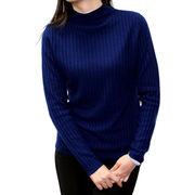 100% cashmere half-collar sweater from China (mainland)