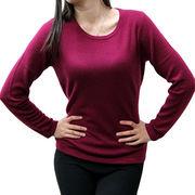 Women's round neck sweater from China (mainland)