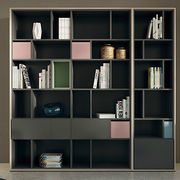 matt lacquer finish book shelf from China (mainland)