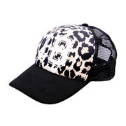 Women's sublimation print baseball caps from China (mainland)