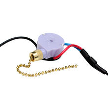 UL 3 Speed Pull Chain Switches for Fans Industry with Piano Wire Spring, Made of Plastic