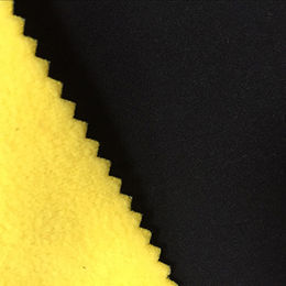 polyester suede faric bonded polar fleece uesd from China (mainland)
