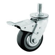 Heavy duty PU M20 thead swivel caster from China (mainland)