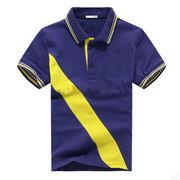 Men's fashion short sleeved polo shirts from China (mainland)