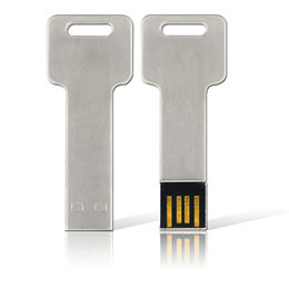 Key shaped USB flash drive 4GB with customized logo from Memorising Tech Limited