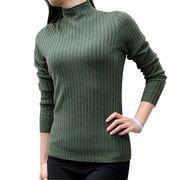 100% half-collar women's sweater from China (mainland)