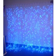 2x4m Blue LED Exterior Christmas Decorative from China (mainland)